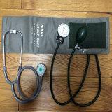 Punho-Mounted clássico Aneroid Sphygmomanometer de Nylon com Stethoscope