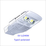40W IP66 LED Outdoor Street Light with 5-Year-Warranty (Polarized)