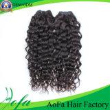 卸売のために編む自然で黒い人間のRemyのアフリカの毛
