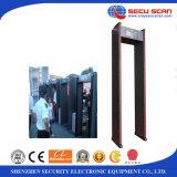 Caminata a través de los detectores de metales del marco de puerta del detector de metales AT-IIIC para el uso del hotel/de la escuela