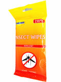 Ausgezeichnetes Mosquito Repellent Wet Wipe Set Anti Insect Wipe 28PCS