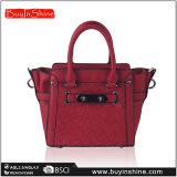 バーガンディによって編まれるデザイナー最も売れ行きの良い女性のハンドバッグ