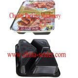 Tipo de empacotamento e máquina automática automática da selagem da caixa de almoço da parte superior de tabela da classe