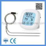 台所BBQのオーブンの温度計を調理するためのタッチスクリーンのデジタル食糧肉プローブの温度計