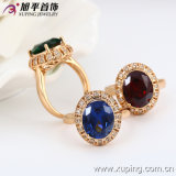 Xuping Fashion Luxury Elegant 18k Gold Women Ring con Zircon