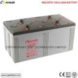 AGM VRLA van het Onderhoud van de fabrikant 2V1200ah Vrije Verzegelde Batterij