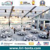 투명한 지붕을%s 가진 1000명의 사람들 결혼식 연회 큰천막 천막