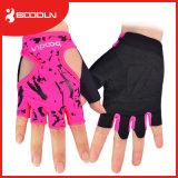 重量挙げの手袋のタイプ通気性のカスタム体操の手袋