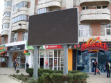 Hohes Resolution P10 Full Color Outdoor LED Display mit Aluminum Panel