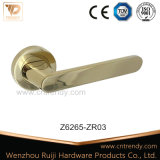Handvat van de Deur van de Rozet van de Klink van de Legering van het Zink van de Privacy van Wenzhou het Tubulaire (Z6265-ZR03)