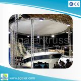 Club Roof Lighting를 위한 알루미늄 Circle Truss