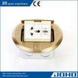 IP44 Waterproof único redondo de bronze estalam acima o tipo caixa do soquete do assoalho e CE TUV do soquete da tabela