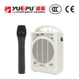 Bewegliches PA-System mit drahtlosem Mikrofon