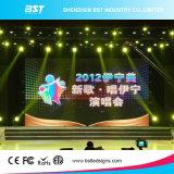 Efecto de enfriamiento excelente de la etapa del precio de fábrica de China P4 de LED definición de alquiler de interior de la visualización de la alta