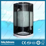 Glasss 줄이 있는 서리로 덥은 미닫이 문 (SR117B)를 가진 전산화된 샤워 울안