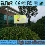 높은 광도 P6.25 임대 풀 컬러 옥외 LED 모듈 게시판