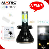 高いPower 40W 4000lm H7 COB Auto LED Headlight