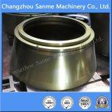 Bucha da carcaça do molde de aço para as peças de maquinaria da mineração
