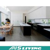 Mobília natural do gabinete de cozinha do projeto simples do estilo (AIS-K100)