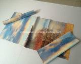 Stuoia di gomma stampata di yoga del tovagliolo di corsa
