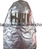 Isolação térmica e terno à prova de fogo do incêndio da tela de algodão da folha de alumínio