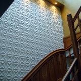 Трудная доска PVC 3D крепила на клею панели стены 3D