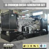 1000kVA 50Hz öffnen Typen das Dieselgenerator-Set, das von Cummins angeschalten wird