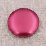 El más barato de maquillaje redondo del metal de aluminio / Compacto / bolsillo / el espejo cosmético con logotipo personalizado