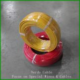 La temperatura elevata collega il cavo elettricamente dello Special del collegare del Teflon di PTFE