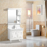 MirrorおよびSide CabinetのPVC Bathroom Cabinet