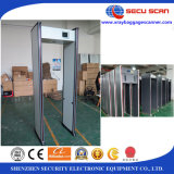 LCD를 가진 도보 Through Metal Detector Model AT-300C