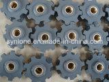 Engrenagem de transmissão do aço de carcaça da areia com cor cinzenta
