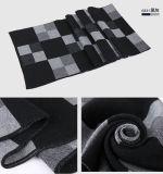 人の方法は点検したパターンウールによって編まれた冬の長いスカーフ(YKY4605)を