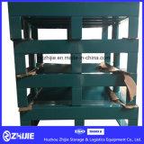 Pálete de aço do armazenamento Stackable do OEM para bens do transporte