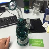 Hot Selling Dirty Spritech Glass Water Pipe, Skull Glass Smoking Pipes (glass waterpipe)