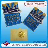 Liberar a surtidor suave de la fábrica de la divisa del esmalte de la dimensión de una variable del blindaje del oro del diseño
