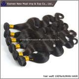 capelli umani del grado 5A del Virgin ondulato brasiliano naturale superiore di Remy