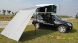 Einzelnes Layers Hard Shell Car Roof Tent für Outdoor Camping