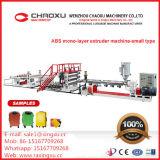 Chaîne de production en plastique d'extrudeuse d'ABS simple efficace élevé de vis machine