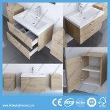 Europese MDF van de Stijl Luxe Moderne die Badkamers met Bilaterale Ijdelheid wordt geplaatst (BF123N)