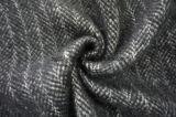Doppio tessuto differente delle lane di Black&White del fronte