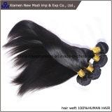 Trama reta preta do cabelo humano de Silkly do cabelo humano