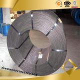 Dehnbarer 12.7mm Stahlstrang mit Draht 1X7