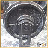 Niveladoras del ensamblaje de la rueda loca del frente de la rueda loca del excavador