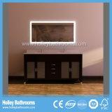 Американский люкс шкаф ванной комнаты с 2 зеркалами СИД и тазиками (BV200W)