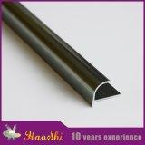 Ajuste de la esquina de cerámica de aluminio del azulejo con la dimensión de una variable redonda cuarta