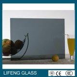 Hard Met een laag bedekt Donkergroen Weerspiegelend Glas