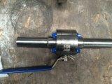 Robinet à tournant sphérique duplex d'acier inoxydable d'A890 5A