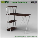 Mesa de escritório nova da madeira de metal com biblioteca (WS16-0014, para a mobília home)