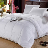 Couette de luxe de linge de lit d'hôtel de Microfiber de polyester (DPH6153)